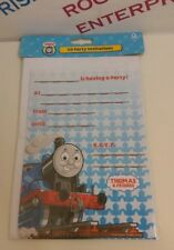 20 x Thomas the Tank Engine & Friends Birthday Party Invitations with Envelopes