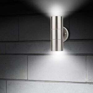 CGC Stainless Steel GU10 IP65 Outdoor Garden Up and Down Wall Light