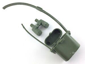 Vintage Stony Smith Marx Binoculars Satchel Bag Accessories Military Green S176