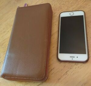 Apple iPhone 6s Rose Gold 32GB Model A1633 w/Protective Cover & Matching Wallet