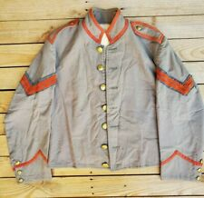 Vintage wool Cpl Confederate Csa reenactment Uniform Shell Jacket civil war
