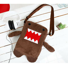 Domo Kun Figure Plush Soft Cartoon Cute Shoulder Bag / Cross Bag