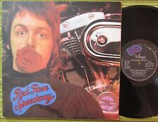 PAUL McCARTNEY AND WINGS, RED ROSE SPEEDWAY, LP 1973 RARE ITALY EX-/EX BOOKLET