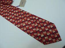 LIBERTY Silk Tie Red/Black/White BNWT
