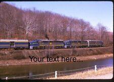 e858 Orig Slide Delaware & Hudson 17, 19, 18 On Special in NY 1974