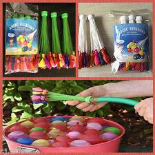111 Ballons D'eau Magique - bombes à eau - jeu d'eau plein air - extra fun -