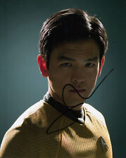 John Cho authentic signed Star Trek 10x8 photo AFTAL & UACC In person [15201]