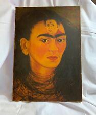 Frido Kahlo 1949 Diego and I  Diego y Yo Reproduction on Canvas