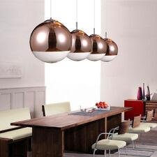 Bar Pendant Light Bronze Glass Pendant Lighting Kitchen Lamp Home Ceiling Light