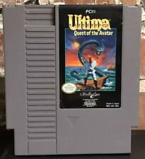 Vintage Nintendo NES Ultima: Quest Of The Avatar FCI Origin Lord British Game