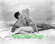 "YVETTE MIMIEUX & ROY HARRITY 8x10 Lab Photo 1960 ""WHERE THE BOYS ARE"" Sexy"