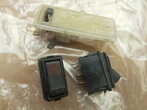 FORD ESCORT MK2 SWITCHES AND INTERIA LIGHT