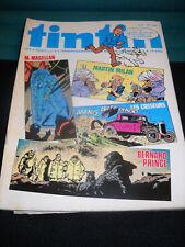 tintin 24 / 32 Journal / Belgische Comic -  Wochenzeitschrift in Frz. Zust. 1