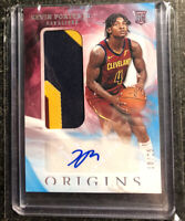 2019-20 Panini Origins Kevin Porter Jr RPA Rookie Patch Auto RC /25 Rockets🚀🔥