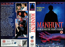 Manhunt, Richard Jordan Video Promo Sample Sleeve/Cover #16144
