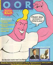 MAGAZINE OOR 1989 nr. 14/15 - COWBOY HENK/PETE TOWNSHEND/CYNDI LAUPER/LOU REED
