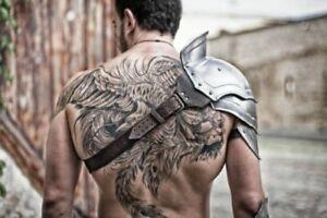 Mittelalterlich Metall Armor Schulter Für Gladiator Battle Bereit Cosplay