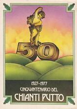C1287) VINO, 1927 - 1977 CINQUANTENARIO DEL CHIANTI PUTTO.