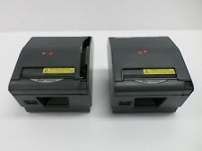 (2) Star Tsp800Ii Pos Thermal Receipt Printer Usb Dark Gray Tsp847Iiu For Parts