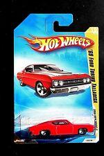 Hot Wheels 2008 New Models #19 '69 Ford Torino Talladega Red