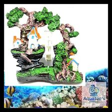 AQUARIUM FISH TANK HOUSE MILL DECORATION 21 CM ORNAMENT AQUA MARINE FRESH WATER