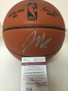 Autographed/Signed JAHLIL OKAFOR New Orleans Pelicans F/S Basketball JSA COA