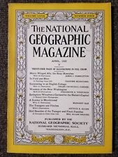 National Geographic Magazine April 1935 Honeybee, Mezokovesd, Finches