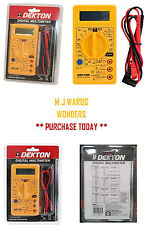 Pocket Size Digital Multimeter Multitester Multi Read Circut Tester Meter AC DC