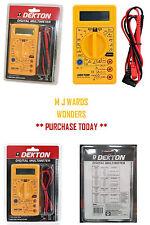 Tamaño de bolsillo Multímetro Digital Tester Multitester Multi Lectura del Medidor AC DC