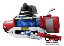 Runva 11XP - Red, dyneema, snatch block and cover