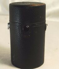 "Pentax Takumar F3.5 135mm Leather Protective hard Lens Case 5x2.8"" - Free Shipp"