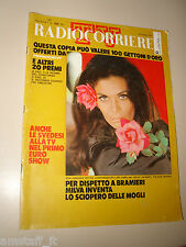 RADIOCORRIERE TV 1971/18=FLORINDA BOLKAN=CARLO SIMONI=NICOLETTA RIZZI=STOPPA P.