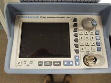 Rohde Amp Schwarz Fs300 Spectrum Analyzer 9khz3ghz