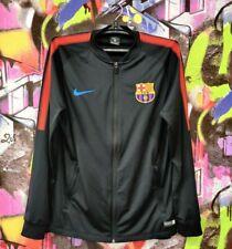 Barcelona FC Football Soccer Longsleeve Zip Jacket Top Shirt Jersey Nike Mens M