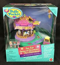 Vintage POLLY POCKET pollypocket Spin Pretty Carousel NEW RARE