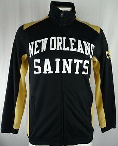New Orleans Saints NFL G-III Men's Full-Zip Track Jacket
