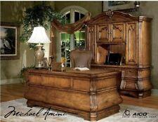 AICO by Michael Amini Tuscano solid wood desk