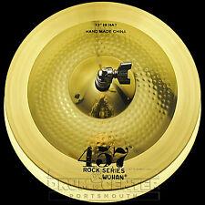 """Wuhan 457 Rock Hi Hat Cymbals 13"""" - Video Demo"""