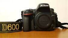 Nikon D600 + vari accessori - 26mila scatti - esteticamente perfetta