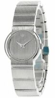 MOVADO Quartz Stainless Steel Silver Museum Dial Women's Watch 0604528