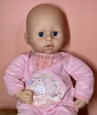 Zapf Creations 17� Baby Chloe Doll with Original Tagged Sleeper ~ Htf