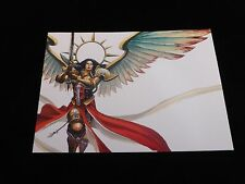 40K Imperium Sisters of Battle Saint Celestine The Living Saint A5 Art Card