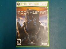 Too Human - Boxed XBOX 360 Game - Good Condition - PAL UK TESTED WORKS