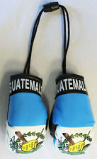 GUATEMALA COUNTRY FLAG  MINI BOXING GLOVES .. NEW