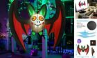 5 FT Halloween Inflatable Outdoor Hanging Bat with Big Wings, Blow Up Yard