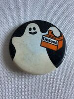 "Vintage Pin Back Button Unicef Ghost 2 1/8""  N 120"
