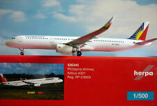 Herpa Wings 1:500 Airbus A321 Philippine Compagnie aérienne RP-C9903 526340