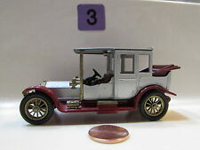 MATCHBOX  MODELS OF YESTERYEAR Y- 7 1912 ROLLS - ROYCE - LOOSE