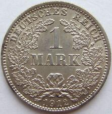 TOP! 1 Mark 1912 J in VORZÜGLICH+++ SELTEN !!!
