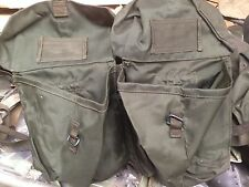 1958 pattern Nylon Webbing kidney pouches. 1970-1990 trial issue Very rare